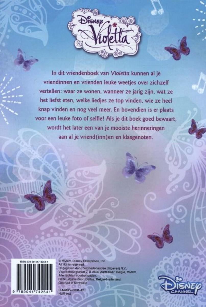 wanneer is violetta jarig bol.| Disney Violetta   Vriendenboek wanneer is violetta jarig
