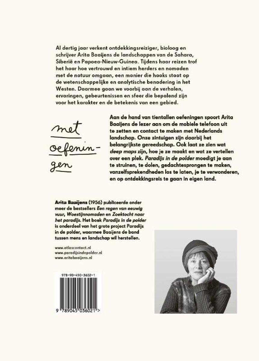 Bolcom Paradijs In De Polder Arita Baaijens 9789045036021 Boeken