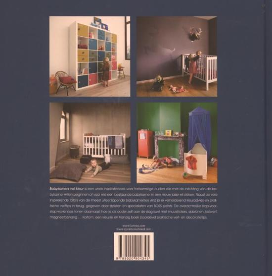 Tweedehands Baby Kamers.Bol Com Babykamers Vol Kleur Tinneke Vos 9789020904345 Boeken