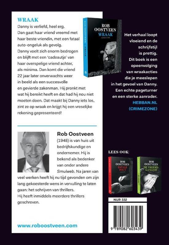 Bolcom Wraak Rob Oostveen 9789082603439 Boeken
