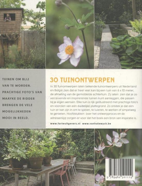 30 tuinontwerpen carolien barkman for Tuinontwerp boek