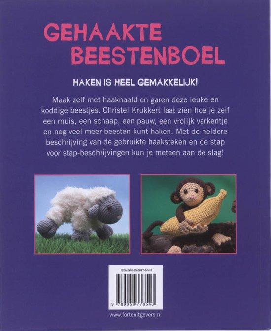 Bolcom Gehaakte Beestenboel Tekstbureau Omdat 9789058778543