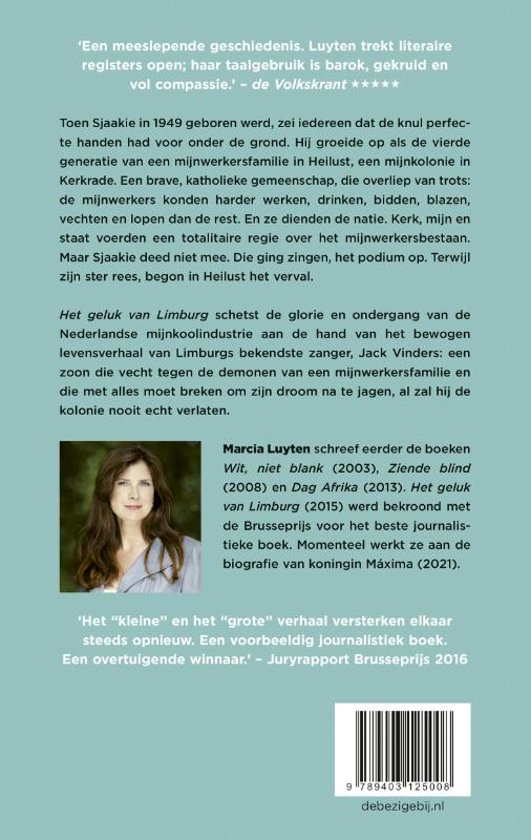 Bolcom Het Geluk Van Limburg Marcia Luyten