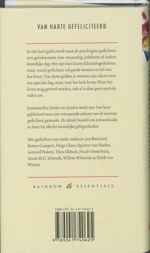 Bolcom Van Harte Gefeliciteerd Onbekend 9789041740625
