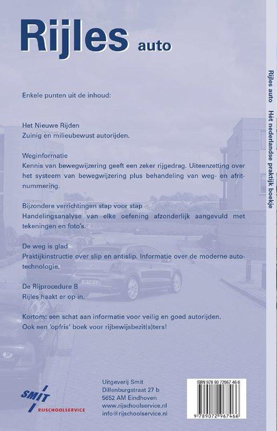 Bol Com Rijles Auto 9789072967466 Boeken