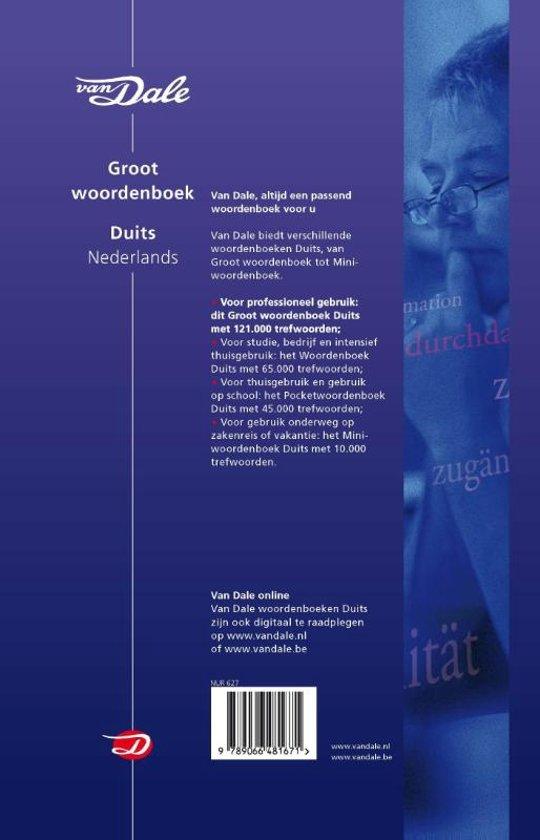 woordenboek duits nederlands van dale online