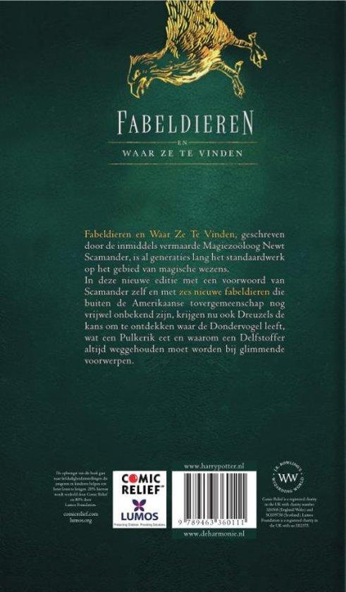 boek fantastic beasts nederlands