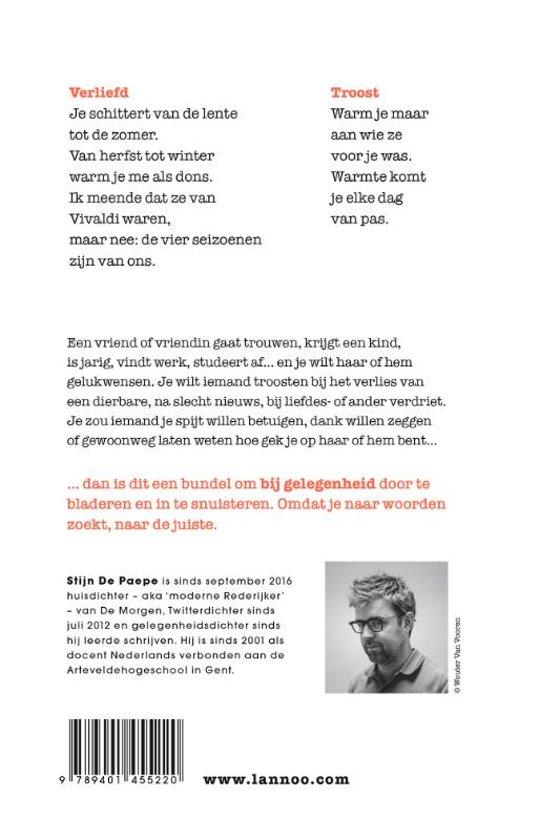 Zeer bol.com | Vers gezocht, Stijn de Paepe | 9789401455220 | Boeken &FU88