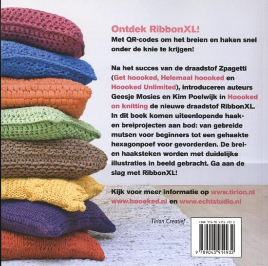 Bolcom Hoooked On Knitting Geesje Mosies 9789043914932 Boeken