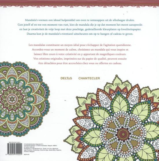Kleurplaten Voor Volwassenen Muziek.Bol Com Mandala Kleuren Voor Volwassenen Mandala Coloriages Pour