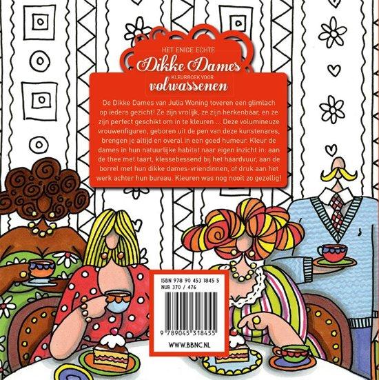 Bol Com Het Enige Echte Dikke Dames Kleurboek Voor Volwassenen
