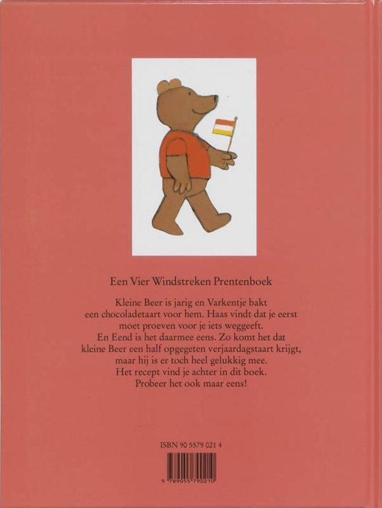 digitaal prentenboek een taart voor kleine beer bol.| Een Vier Windstreken prentenboek   Een taart voor kleine  digitaal prentenboek een taart voor kleine beer