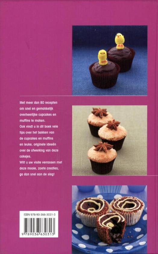 Bolcom Cupcakes En Muffins Anthony Carroll 9789036630313 Boeken
