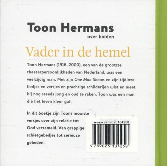 Bolcom Vader In De Hemel Toon Hermans 9789026134258