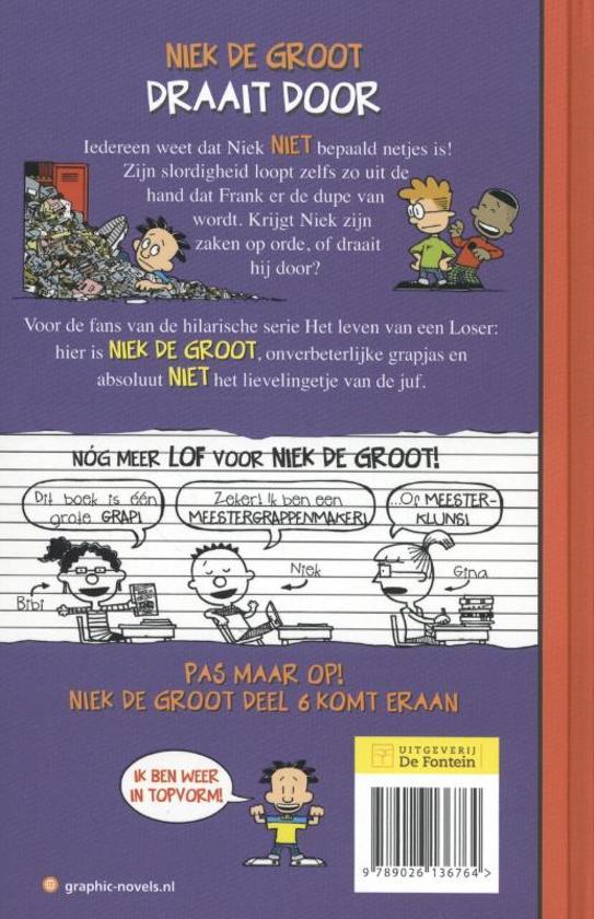 Bol Com Niek De Groot 5 Niek De Groot Draait Door Lincoln Peirce 9789026136764 Boeken