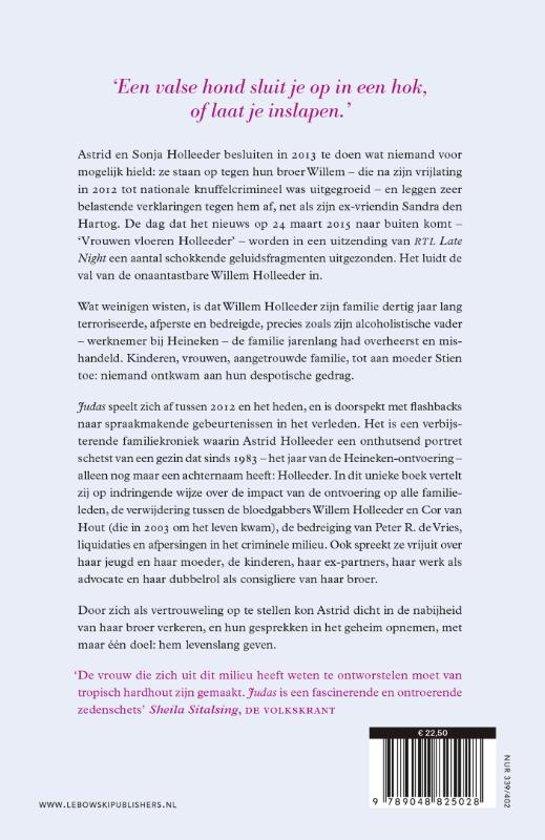 Bolcom Judas Astrid Holleeder 9789048825028 Boeken