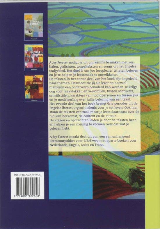 Bolcom A Joy Forever Vwo Deel Leerlingenboek 9789006102628