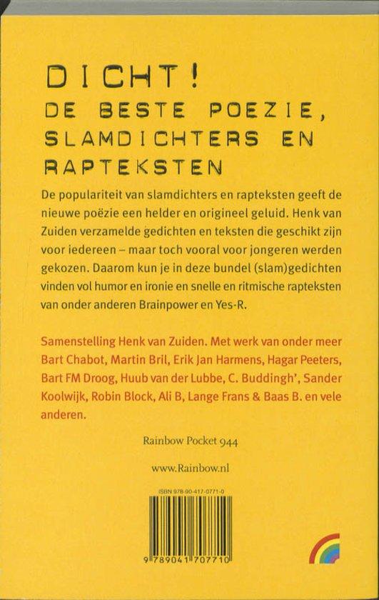Bolcom Dicht Onbekend 9789041707710 Boeken