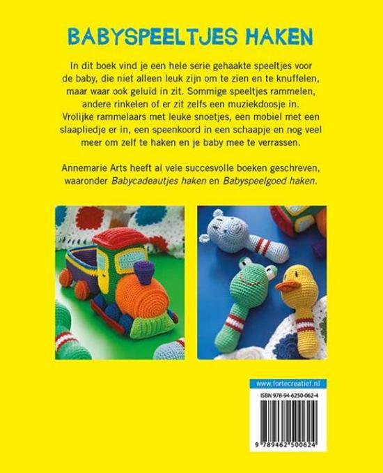 Bolcom Babyspeeltjes Haken Annemarie Arts 9789462500624 Boeken