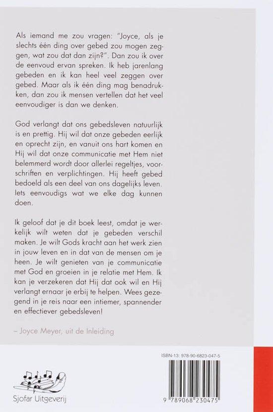 Super bol.com | De Kracht Van Een Eenvoudig Gebed, Joyce Meyer &ZP57