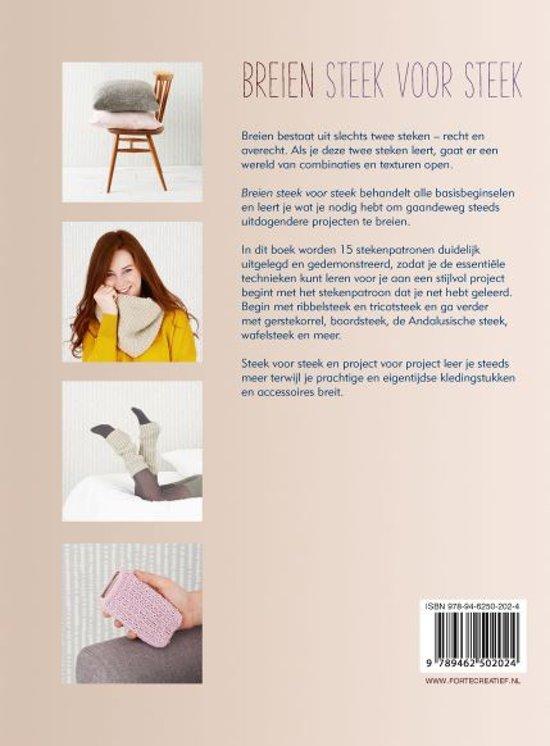 Bolcom Breien Steek Voor Steek Alina Schneider 9789462502024
