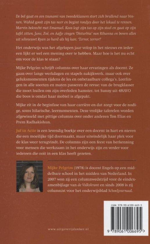 Bolcom Juf In Actie Mijke Pelgrim 9789061006695 Boeken