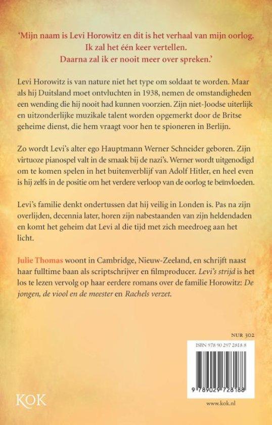 Bolcom Levis Strijd Julie Thomas 9789029728188 Boeken