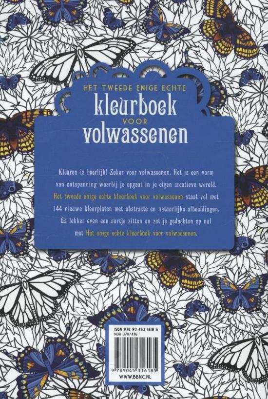 Nieuwe Kleurplaten Voor Volwassenen.Bol Com Het Tweede Enige Echte Kleurboek Voor Volwassenen