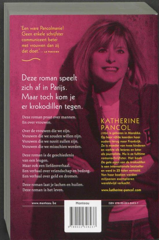 Bol Com De Gele Ogen Van De Krokodillen Katherine Pancol  Boeken