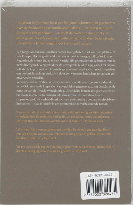 bol.com | Alles is verlicht, Jonathan Safran Foer | 9789022320471 ...