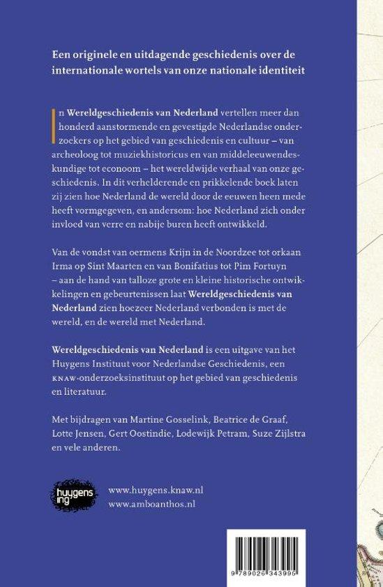 Bolcom Wereldgeschiedenis Van Nederland Huygens Instituut