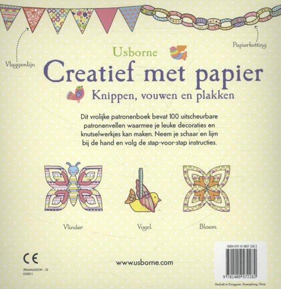 Geliefde bol.com | CREATIEF MET PAPIER, Usborne | 9781409572282 | Boeken &BL01