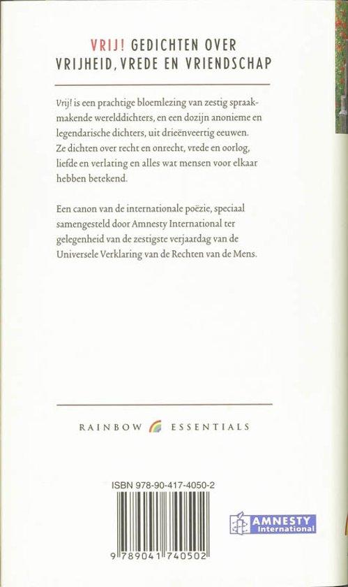 Bol Com Vrij Onbekend 9789041740502 Boeken