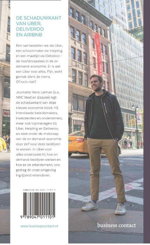 7a4d5b30c05 bol.com | Uber voor alles, Rens Lieman | 9789047011101 | Boeken