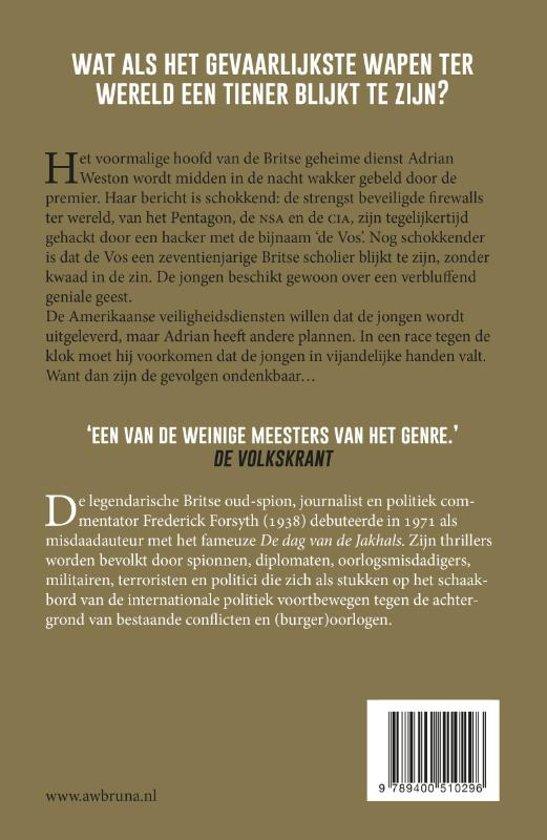Bolcom De Vos Frederick Forsyth 9789400510296 Boeken