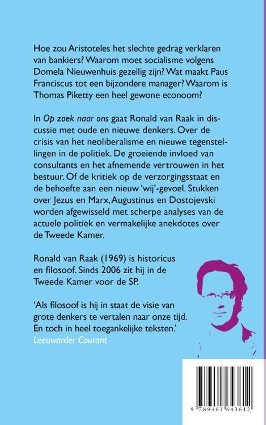 e4a3e206f50 bol.com | Opzoek naar ons, Ronald van Raak | 9789461643612 | Boeken