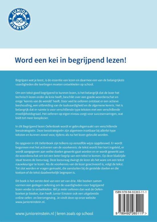 7db4dac6e79 bol.com | Begrijpend lezen oefenboek 1 | 9789492265111 | Boeken
