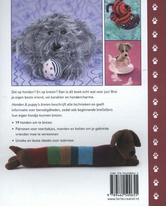 Bolcom Honden Puppys Breien Sue Stratford 9789462500655