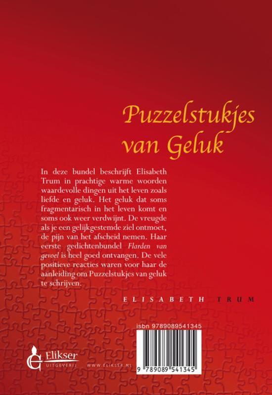 Bolcom Puzzelstukjes Van Geluk Elisabeth Trum