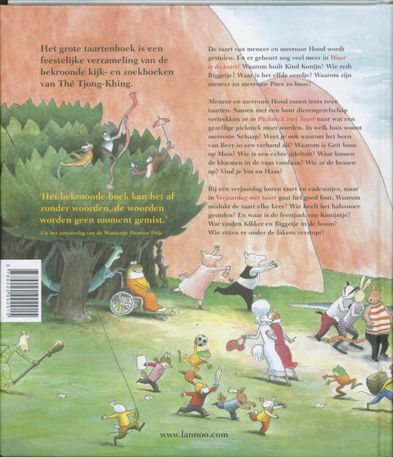 Bol Com Het Grote Taartenboek The Tjong Khing 9789020992915
