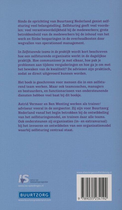 Buurtzorg nederland zelfsturende teams