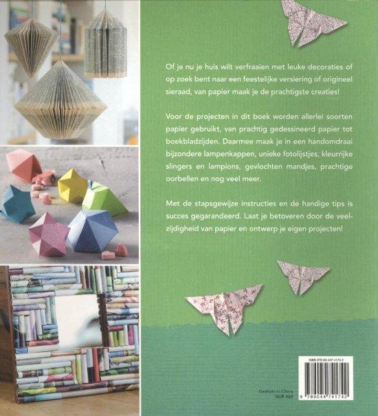 Super bol.com | Deltas Creatief knutselen met papier | 9789044741742 &BD95
