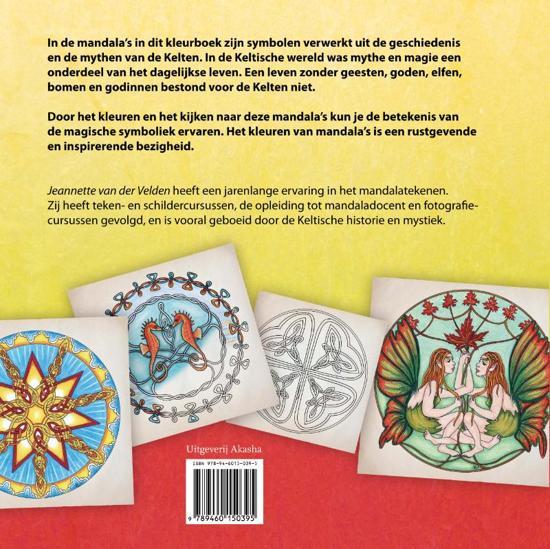 Kleurplaten Keltische Mandala.Bol Com Keltische Mandala S Kleuren Jeannette Van Der Velden