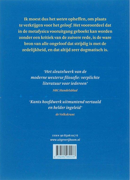 Bolcom Kritiek Van De Zuivere Rede 9789085060178