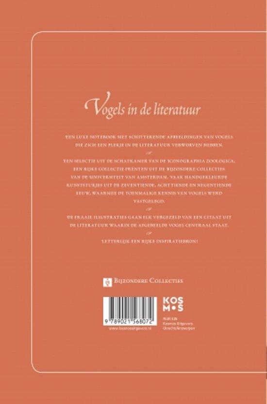Citaten Uit Literatuur : Bol.com vogels notebook iconographia zoologica 9789021568072