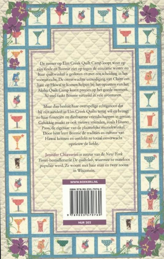 De Bruidsquilt Jennifer Chiaverini.Bol Com De Alohaquilt Jennifer Chiaverini 9789022570760 Boeken