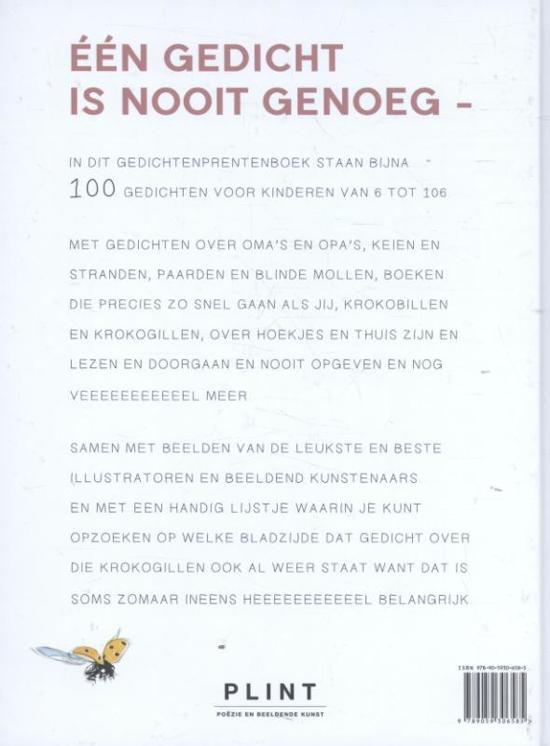 Bolcom één Gedicht Is Nooit Genoeg 9789059306585 Boeken