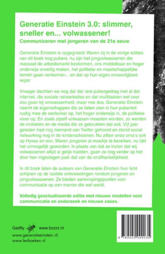 Generatie Einstein - J. Génération Einstein - J. Boschma En I. Voile Et I. Groen Vert yESIApG