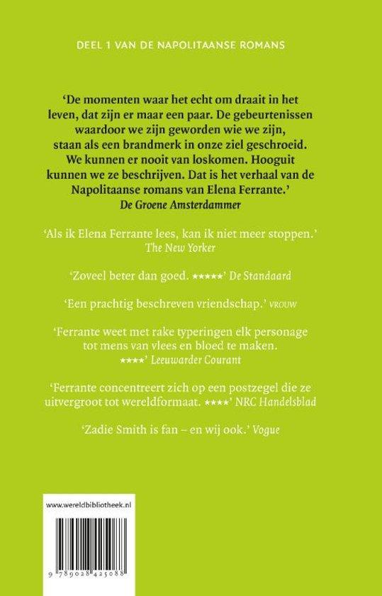 Uitzonderlijk bol.com | De Napolitaanse romans 1 - De geniale vriendin, Elena #SX31