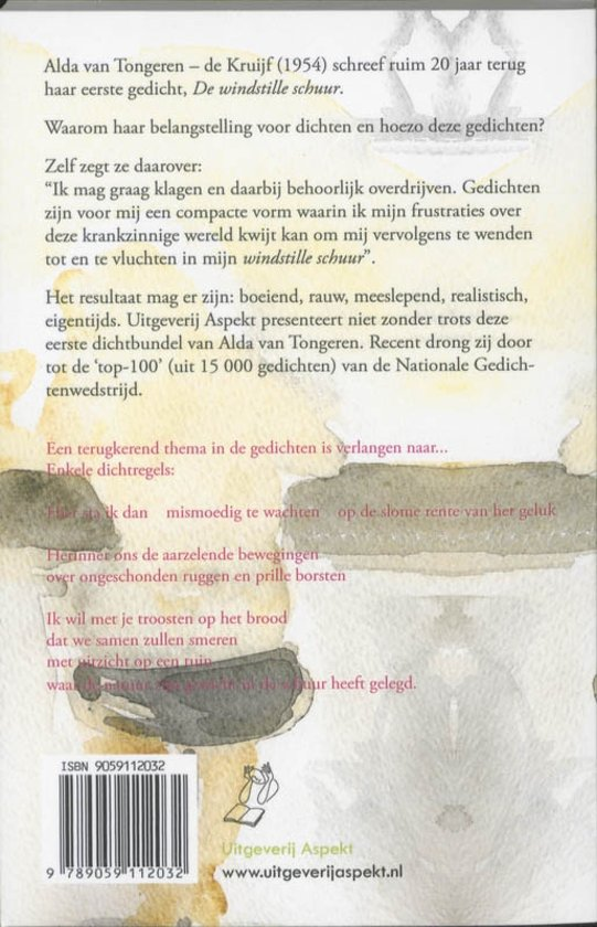 Bolcom De Windstille Schuur Alda Van Tongeren